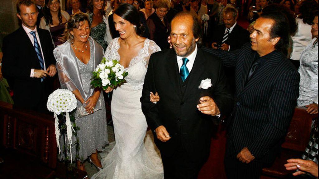 En la boda de su hija Casilda