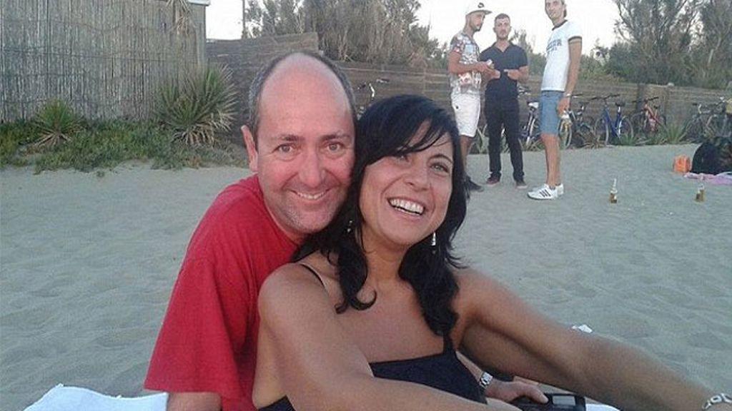 Fabrizio y Paola, de 45 y 42 años, pasaban las vacaciones en Amatrice