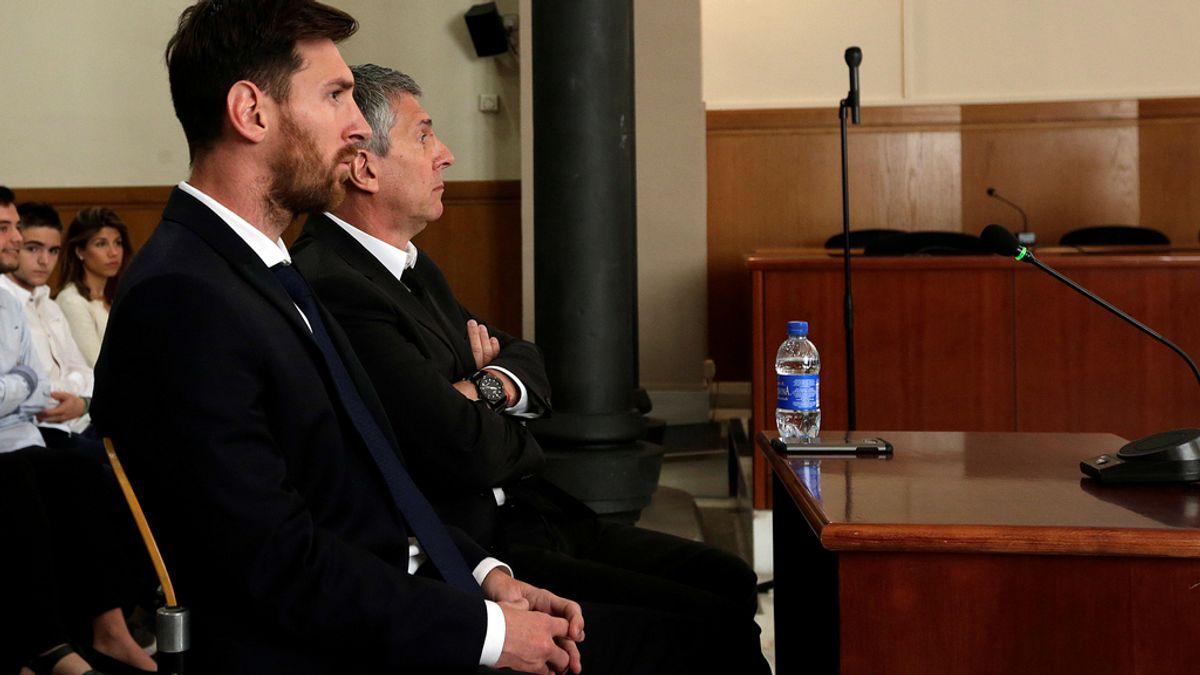 Leo Messi, Barça, Hacienda
