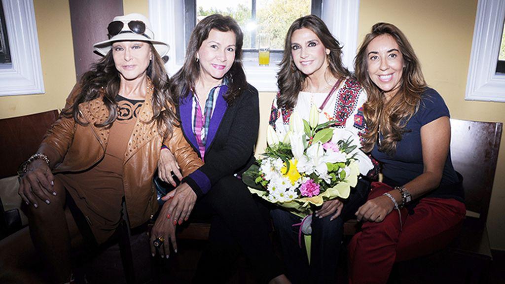 Póker de damas: María Ángeles Grajal, Iveth Ultia, Marina Danko y María López