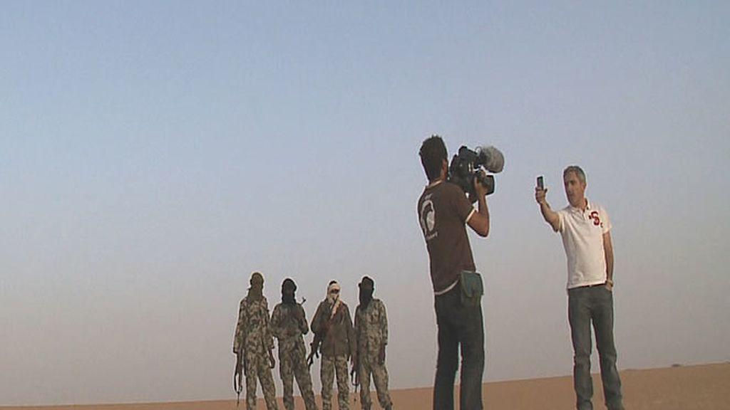 """Jon Sistiaga y su cámara realizan una """"entradilla"""""""