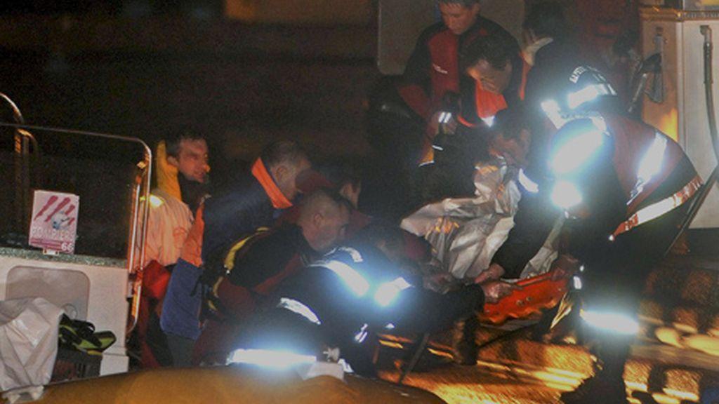 Aún continúan desparecidos otros cuatro pasajeros. Vídeo: ATLAS