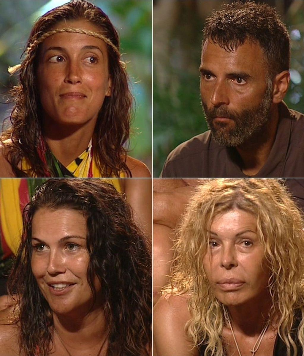 Leo, Rafa, Katia y Bibiana