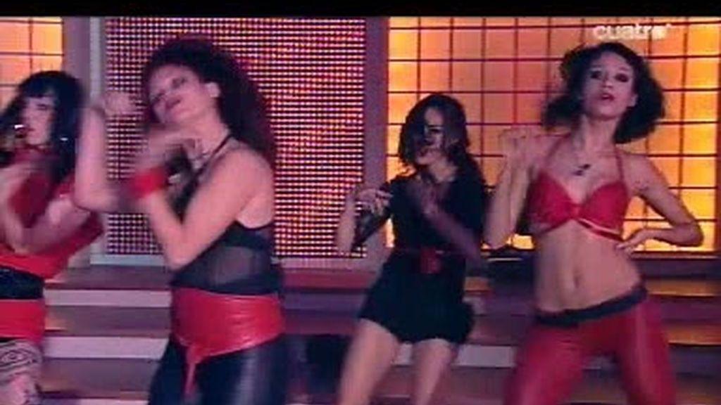 Coreografía chicas fuego