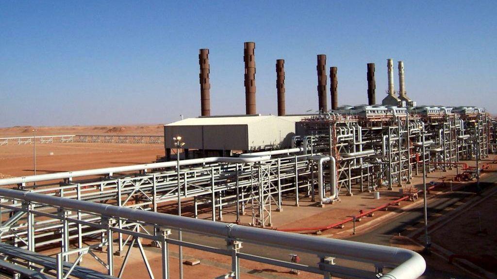 La planta de gas donde han secuestrado a decenas de trabajadores extranjeros en Argelia