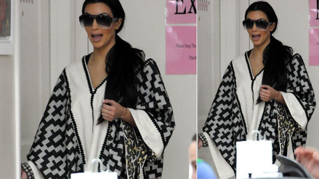 Kim Kardashian, a lo navajo