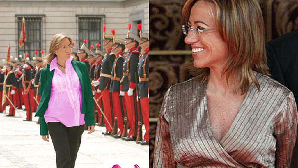 Carmen Chacón, nueve meses con estilo