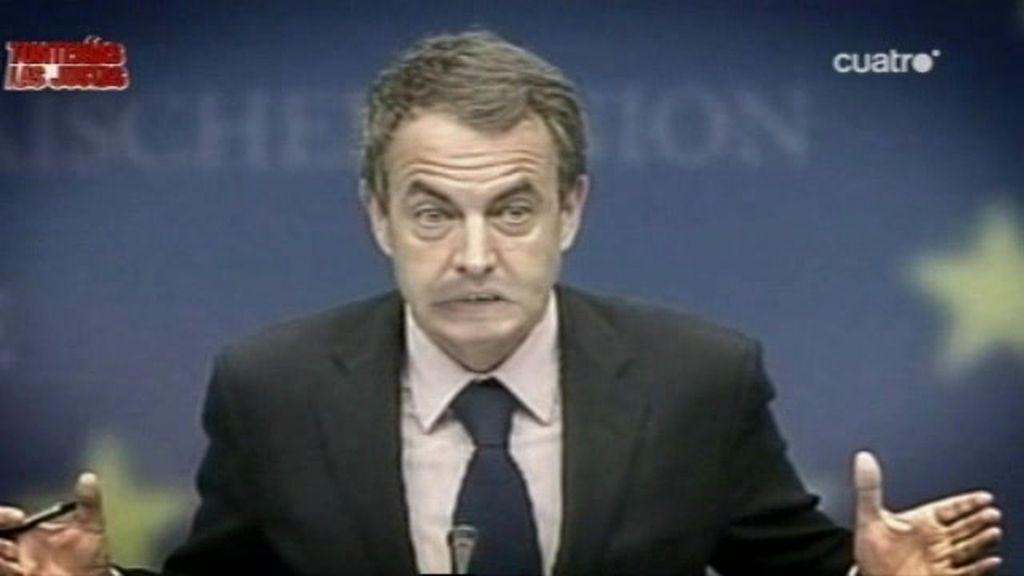Zapatero opina sobre el paro
