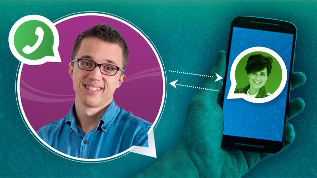 Íñigo Errejón, a golpe de WhatsApp