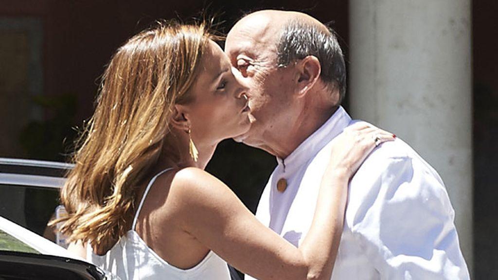Andrea Pascual, actual novia de Gómez Acebo, también acudió a la comunión