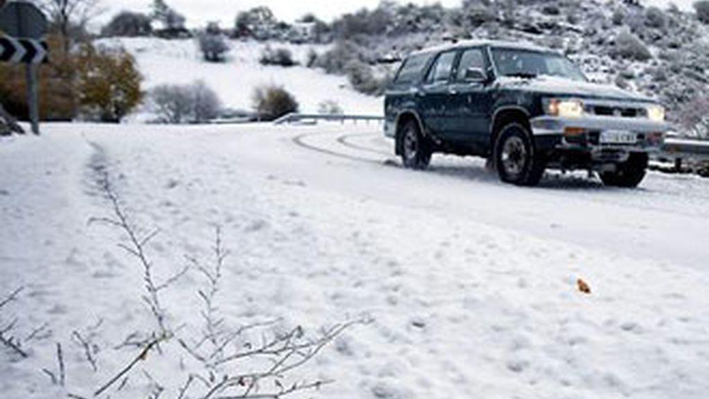Las primeras nieves del norte de España