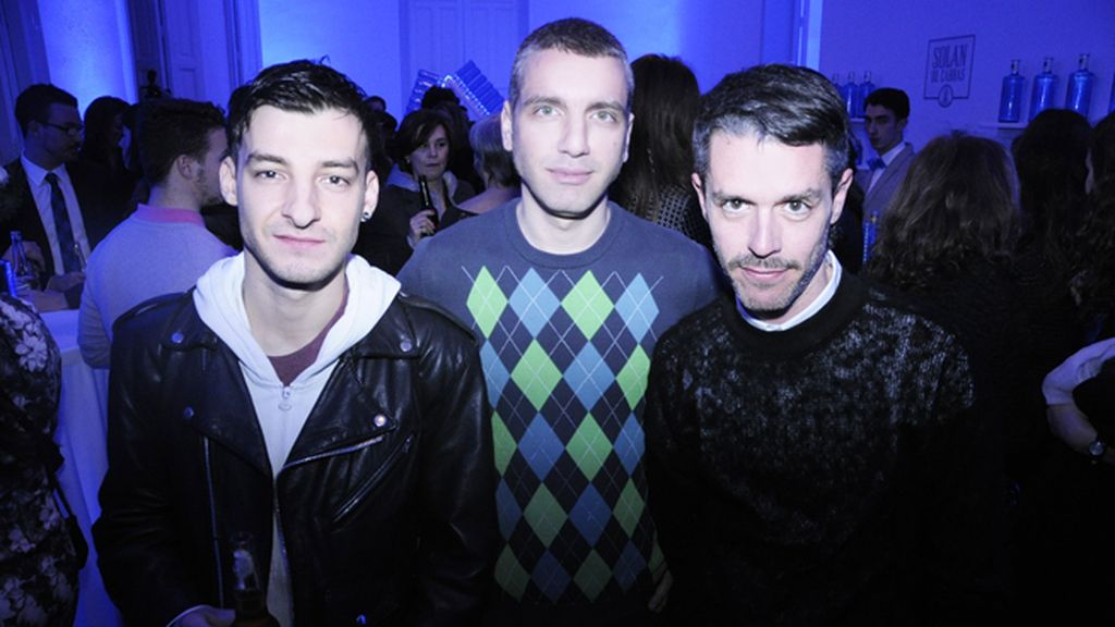 Xavi Reyes, David y Juanma Cabezón
