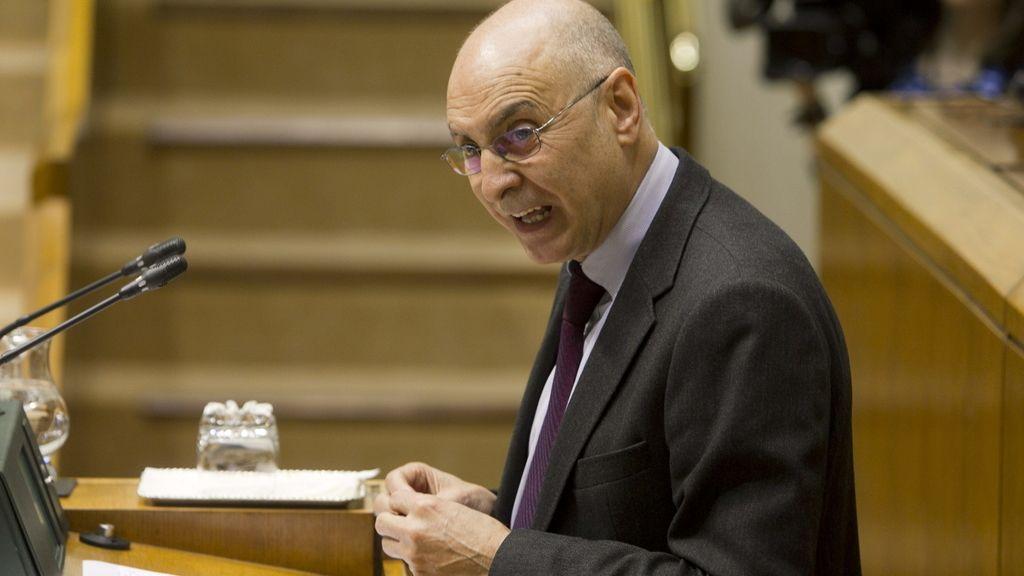 El portavoz del PSE-EE en el Parlamento Vasco, Rodolfo Ares. Foto: EFE