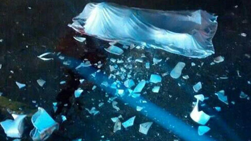 Muere un hincha tras ser golpeado con un inodoro en Brasil