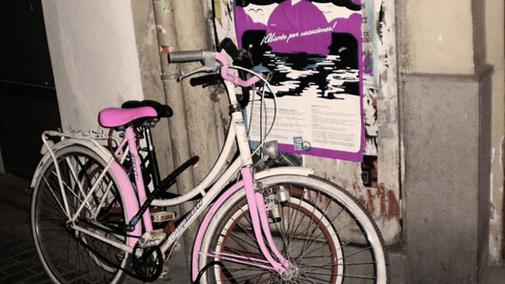 La bicicleta rosa