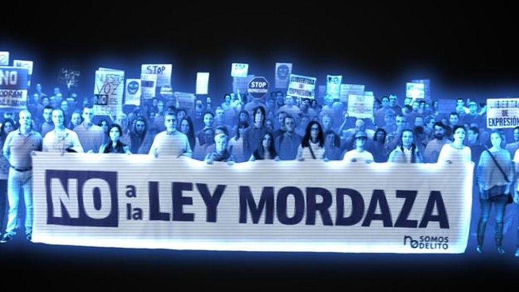Campaña contra la Ley Mordaza