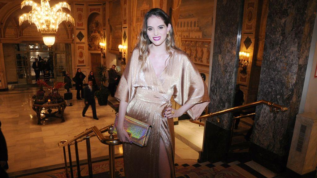 Marina Jamieson eligió un vestido de Gucci para los GQ