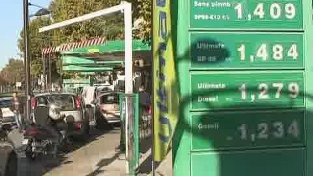 Las gasolineras de Francia