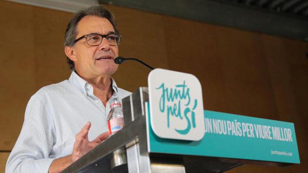 Artur Mas en un acto de 'Junts Pel Sí'