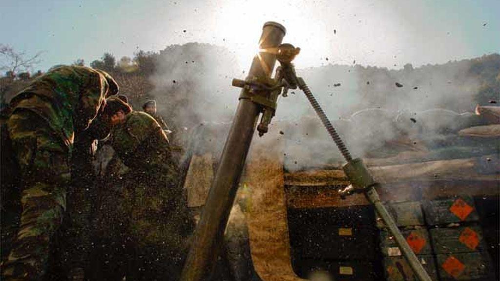 Un soldado afgano en una ofensiva militar al este del país en enero de 2009.