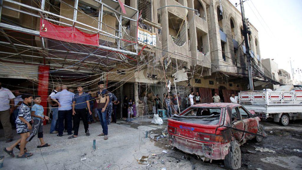 Ola de atentados en Bagdad