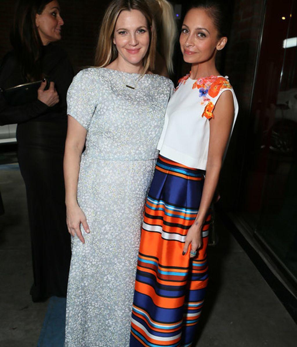 Drew Barrymore y Nicole Richie