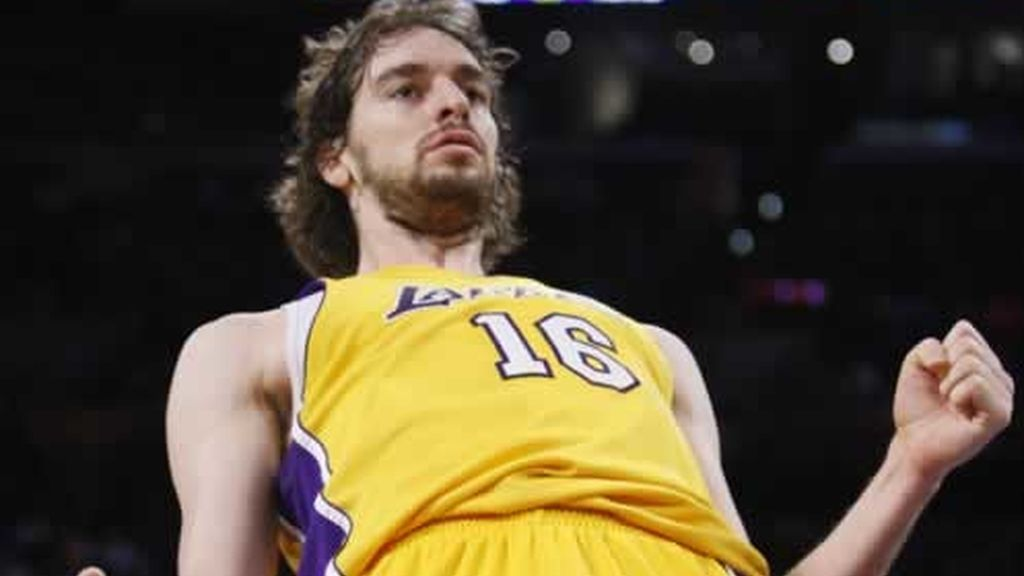 Pau Gasol es ya 'Superpau' en Los Angeles