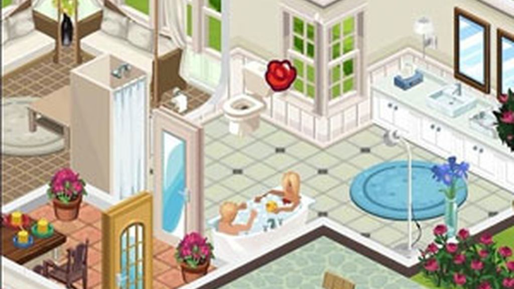 Los Sims pueden conectarse con sus amigos a través de Facebook. Foto: Electronics Arts