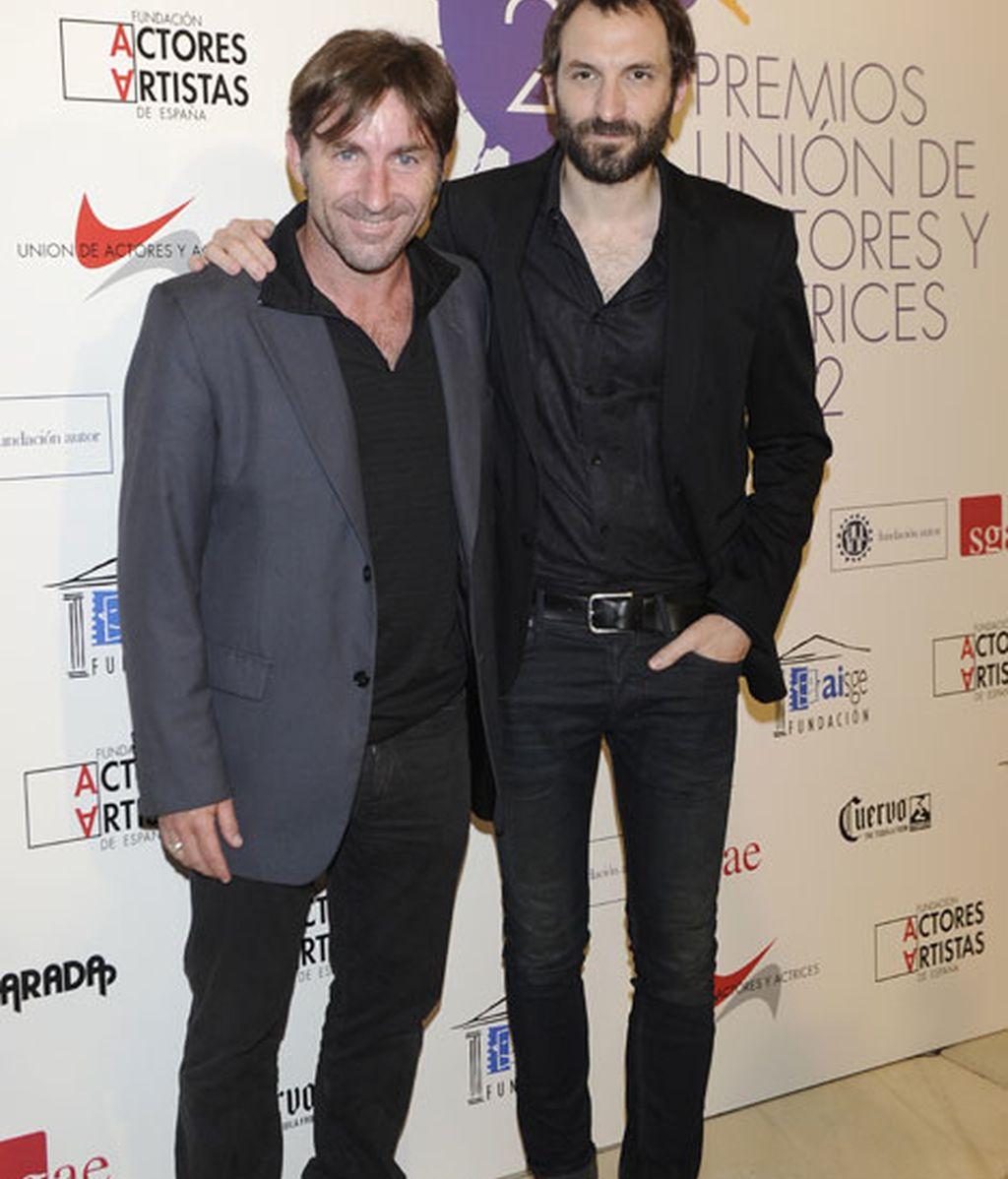 Los actores Antonio de la Torre y Juan Villagran