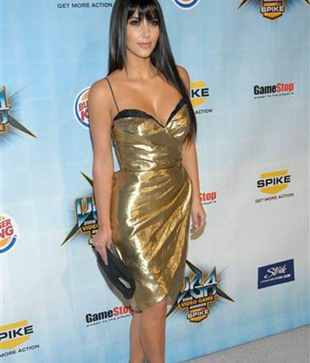 Kim Kardashian, número uno en sensualidad