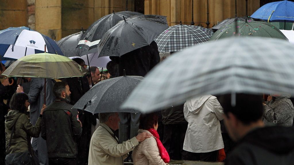 Las lluvias vuelven al norte y sudeste peninsular este fin de semana