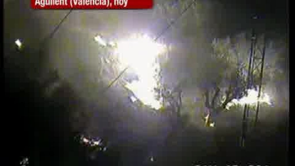 Incendio en la Comunidad Valenciana