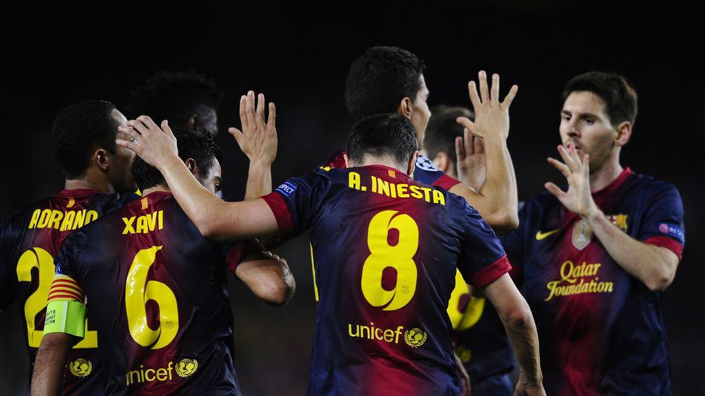 Iniesta, Barcelona