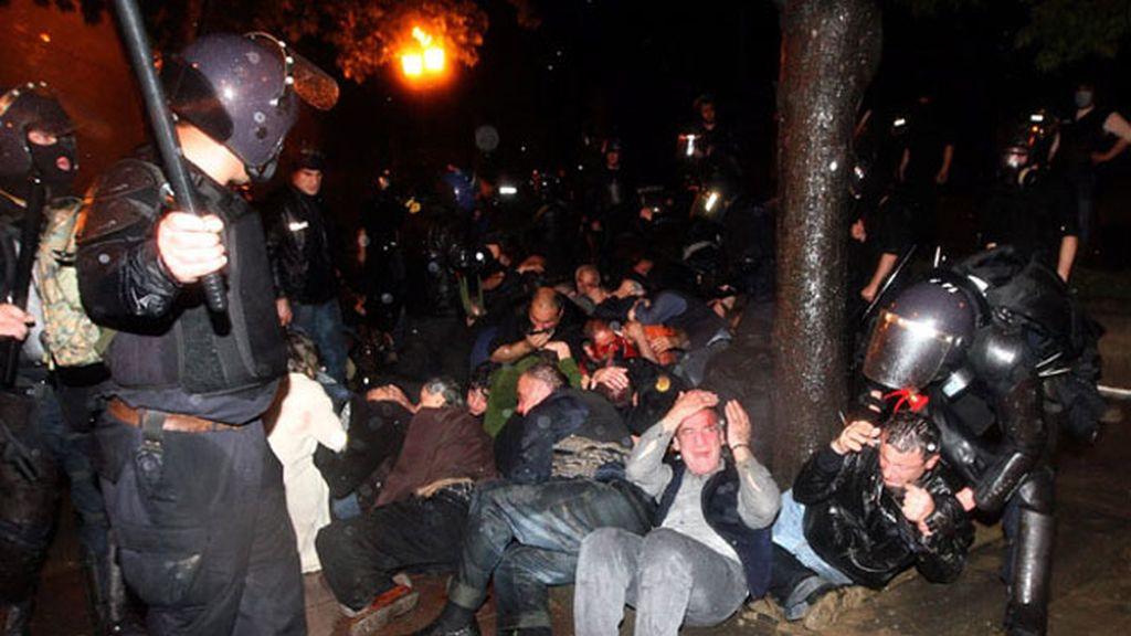 Decenas de detenidos y heridos en las manifestaciones en Tiflis