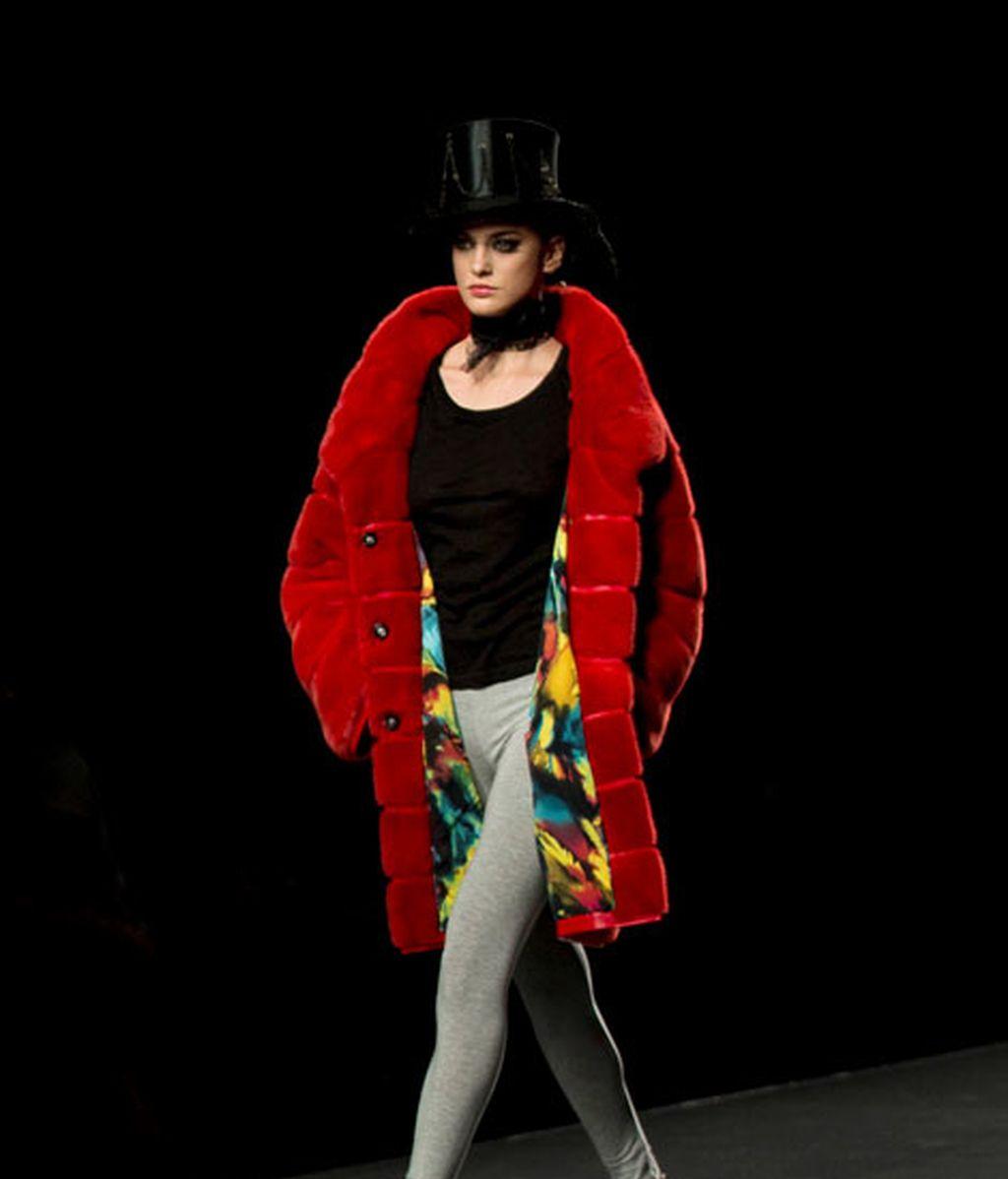 La tendencia fusiona el 'steampunk' con el 'glam'