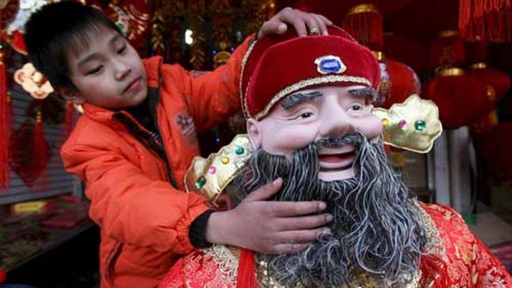 China celebra su Nochevieja el próximo enero