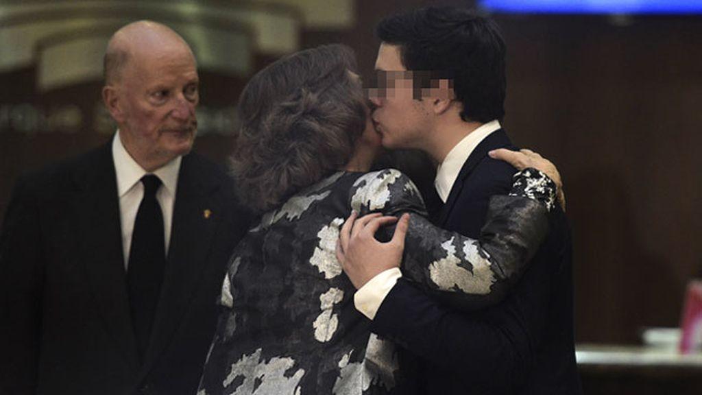La reina Sofía quiso mostrar sus condolencias a los hijos de Kardam y Miriam