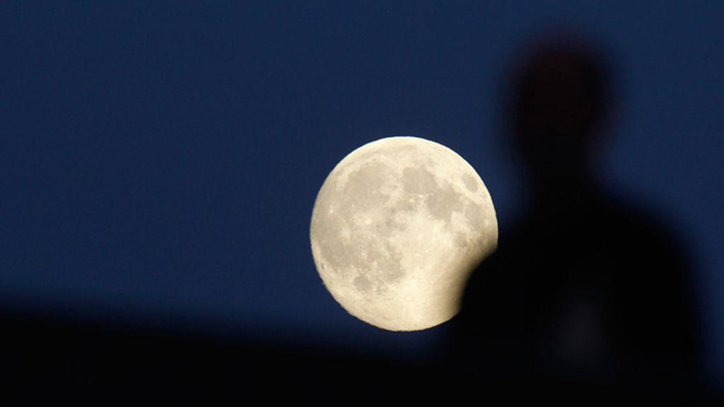 'Superluna' en Rusia