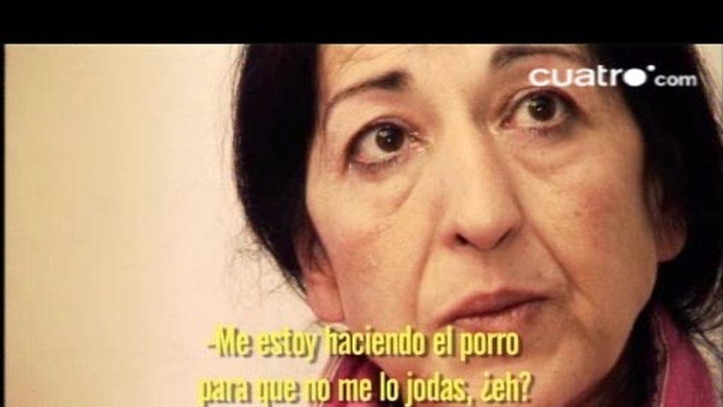 AVANCE. Juanma es muy agresivo con su madre