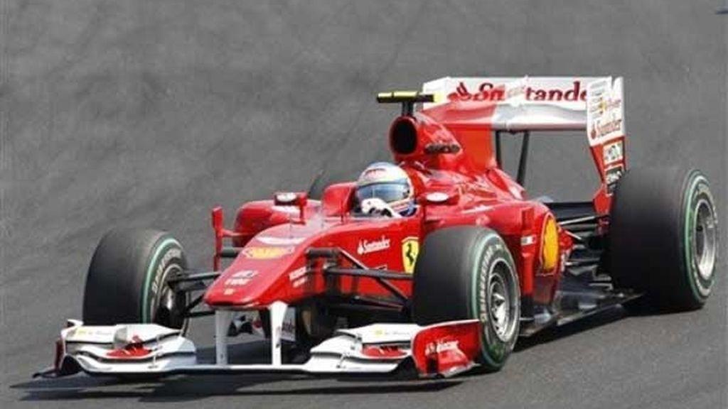 Alonso, segundo en Hungría