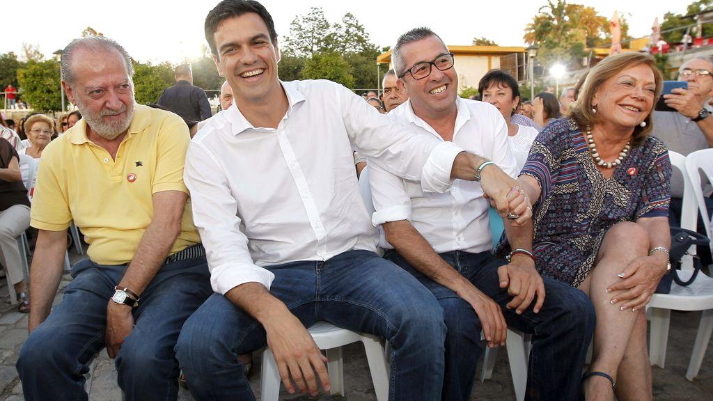 """Sánchez tiene """"hambre"""" de cambiar y """"abrir un nuevo tiempo"""" en el PSOE"""
