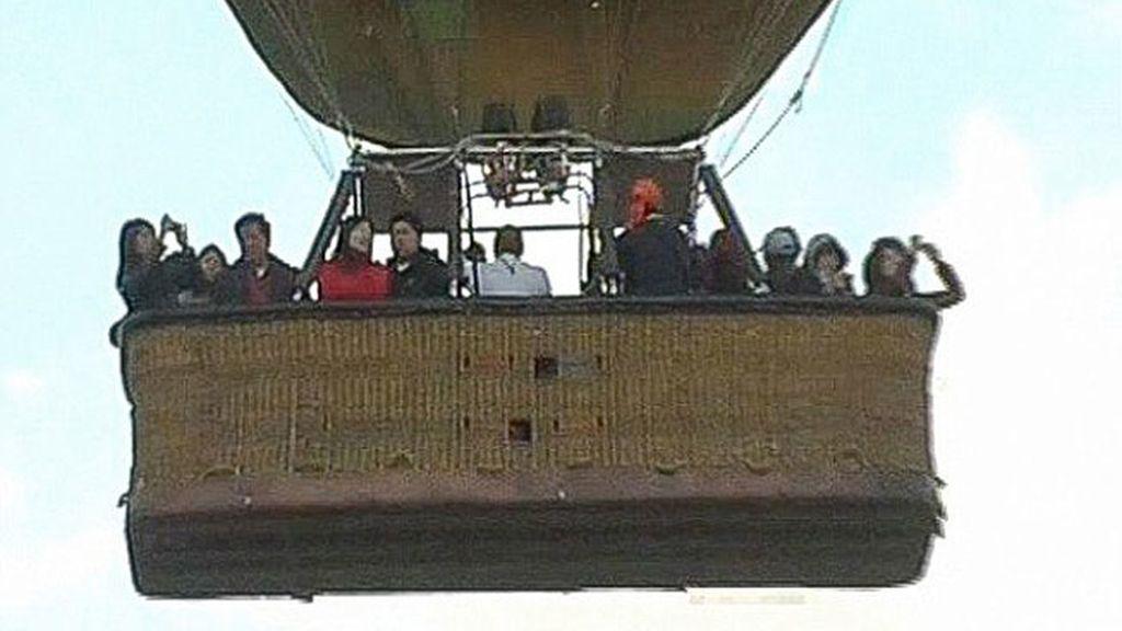 Las últimas imágenes de los turistas que murieron en el globo