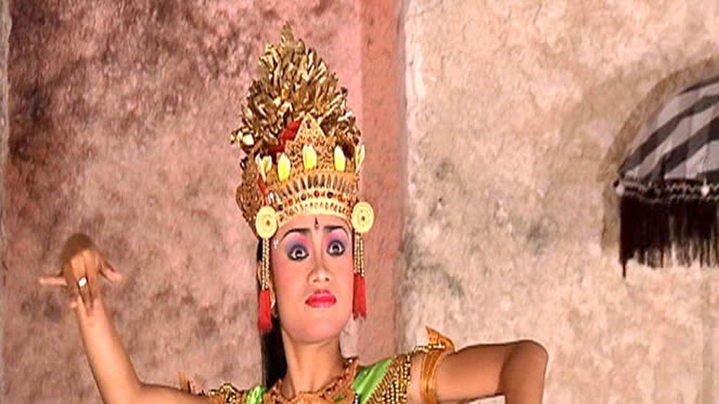 Bailarina indonesa