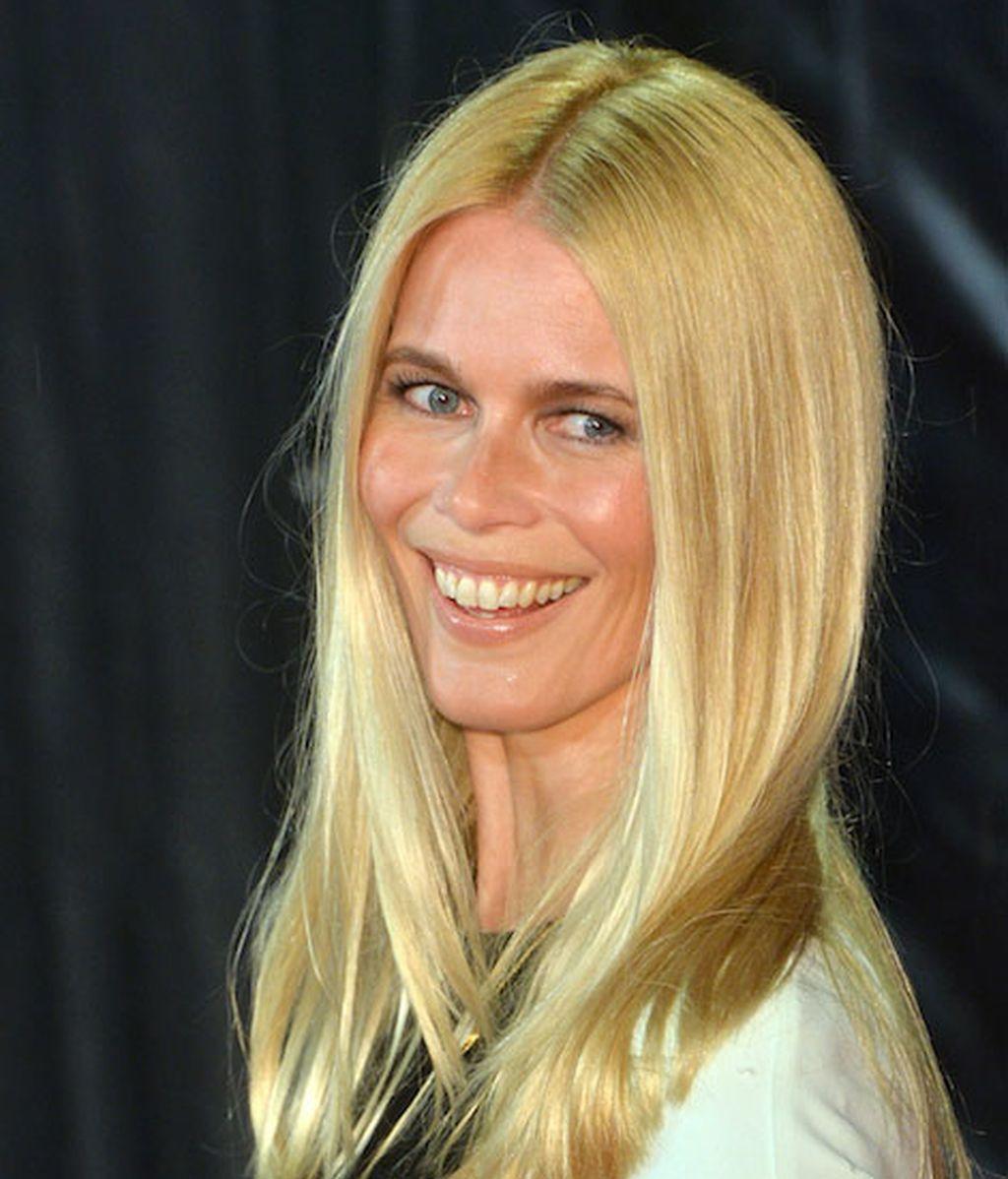 El regreso de Claudia Schiffer
