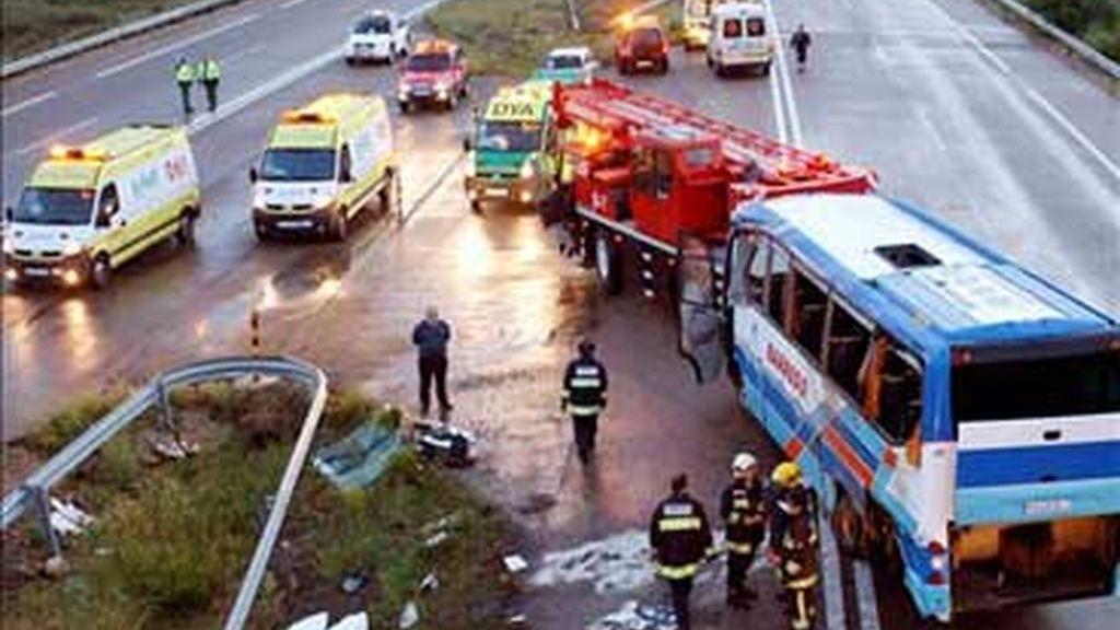 Fallecen 44 personas menos que en mayo de 2007. Video: Informativos Telecinco