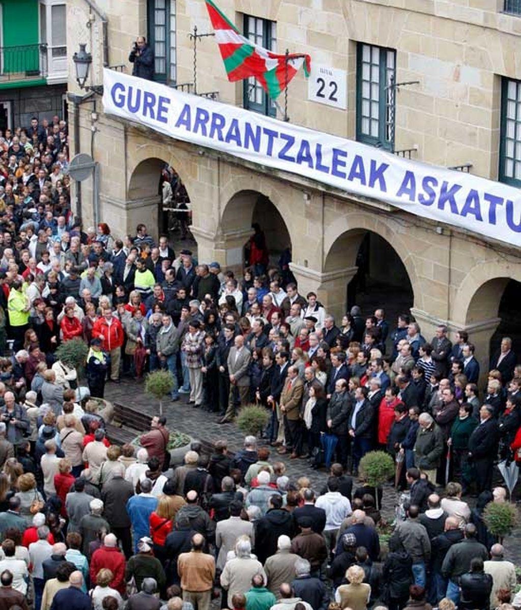 concentración por la liberación del 'alakrana'