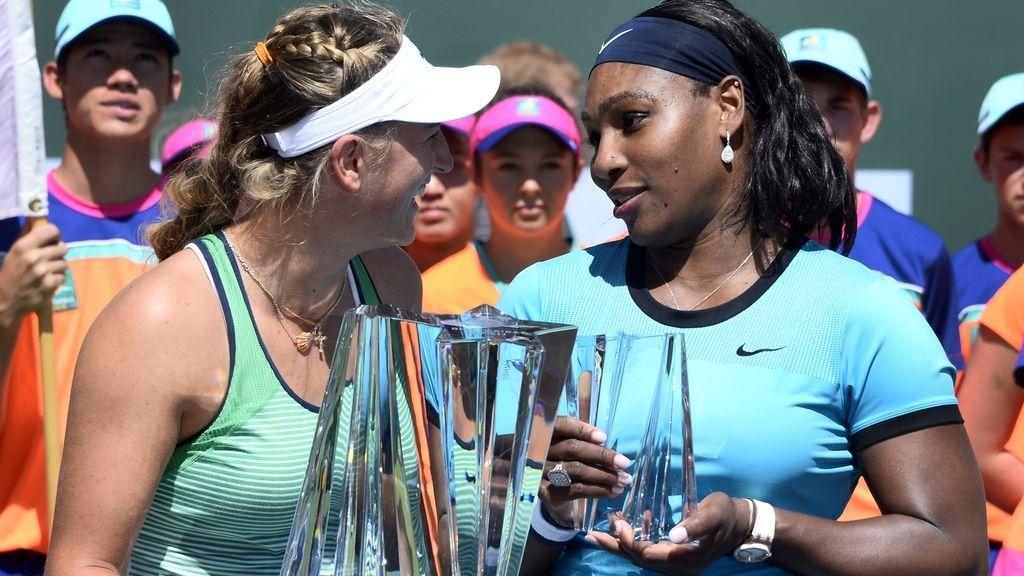 Serena Williams y Victoria Azarenka