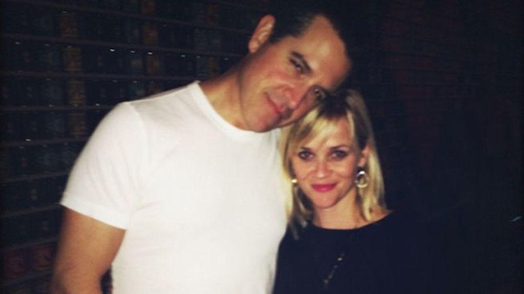 Reese Witherspoon celebra sus cuatro años de casada