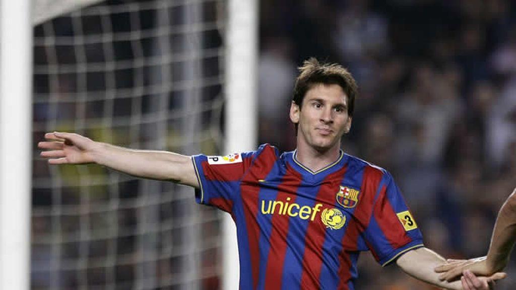 Leo Messi, frente al Zaragoza