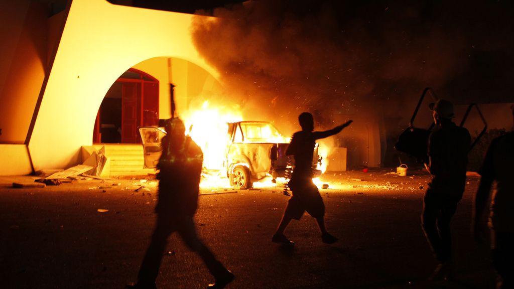 Atentados en Benghazi. Foto: Reuters